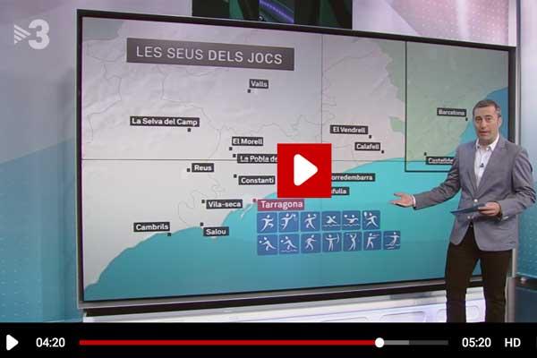 els matins de TV3, jocs del mediterrani 2018 a Tarragona