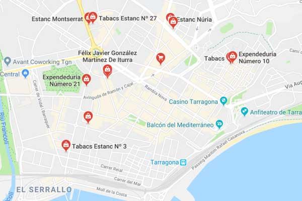 estancos en Tarragona